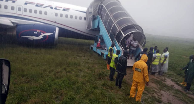 Watch moment highly placed Nigerians React after they survived a Plane Crash in ilorin (video)