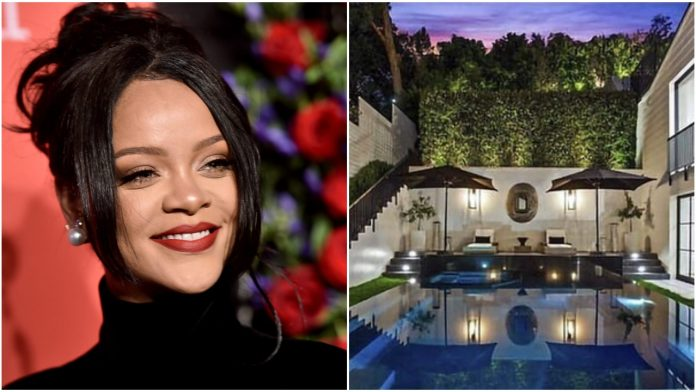 Rihanna Renting Out Beverly Hills Mansion For $80,000 Per Month