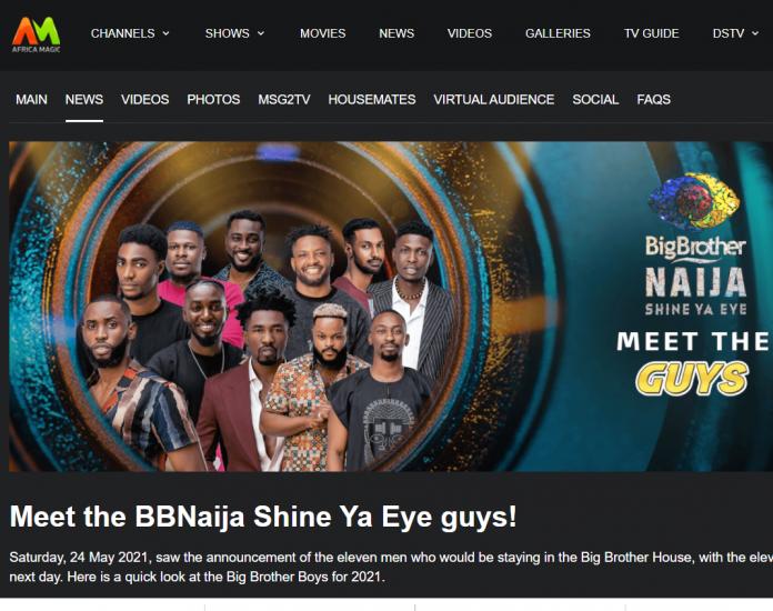 BREAKING: DStv BBNaija Season 6 official website has crashed (SEE PROOF)