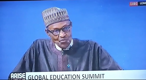 2021 Global Education Summit: ''You cannot succeed outside your educational qualification''- President Buhari (Video)