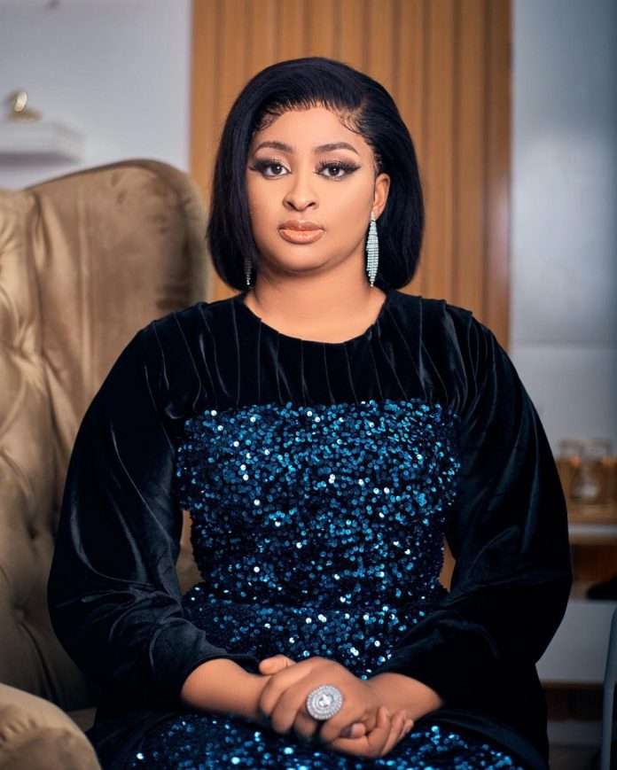 Actress Etinosa replies lady who trivialized her vow not to have more kids after losing her dad