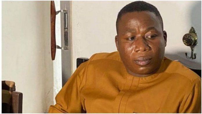 BREAKING: Yoruba Nation agitator, Sunday Igboho, arrested in Cotonou