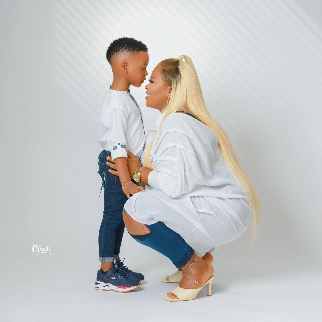 Actress, Abimbola Thomas pens inspiring words to celebrate her son 5th birthday (Photos)