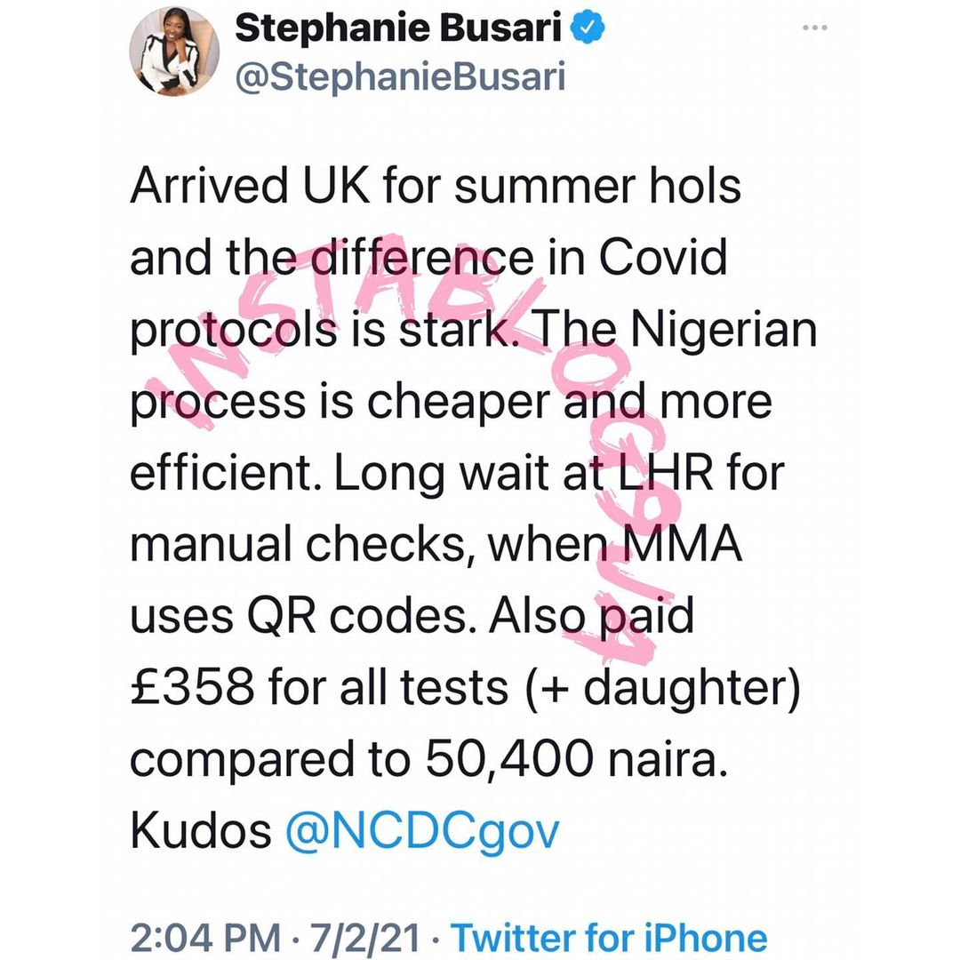 Nigeria's COVID-19 protocols is better than that of the UK — Journalist Stephanie Busari