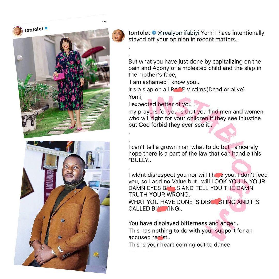 Tonto Dikeh, Iyabo Ojo, others react to Yomi Fabiyi's movie about Baba Ijesha's saga