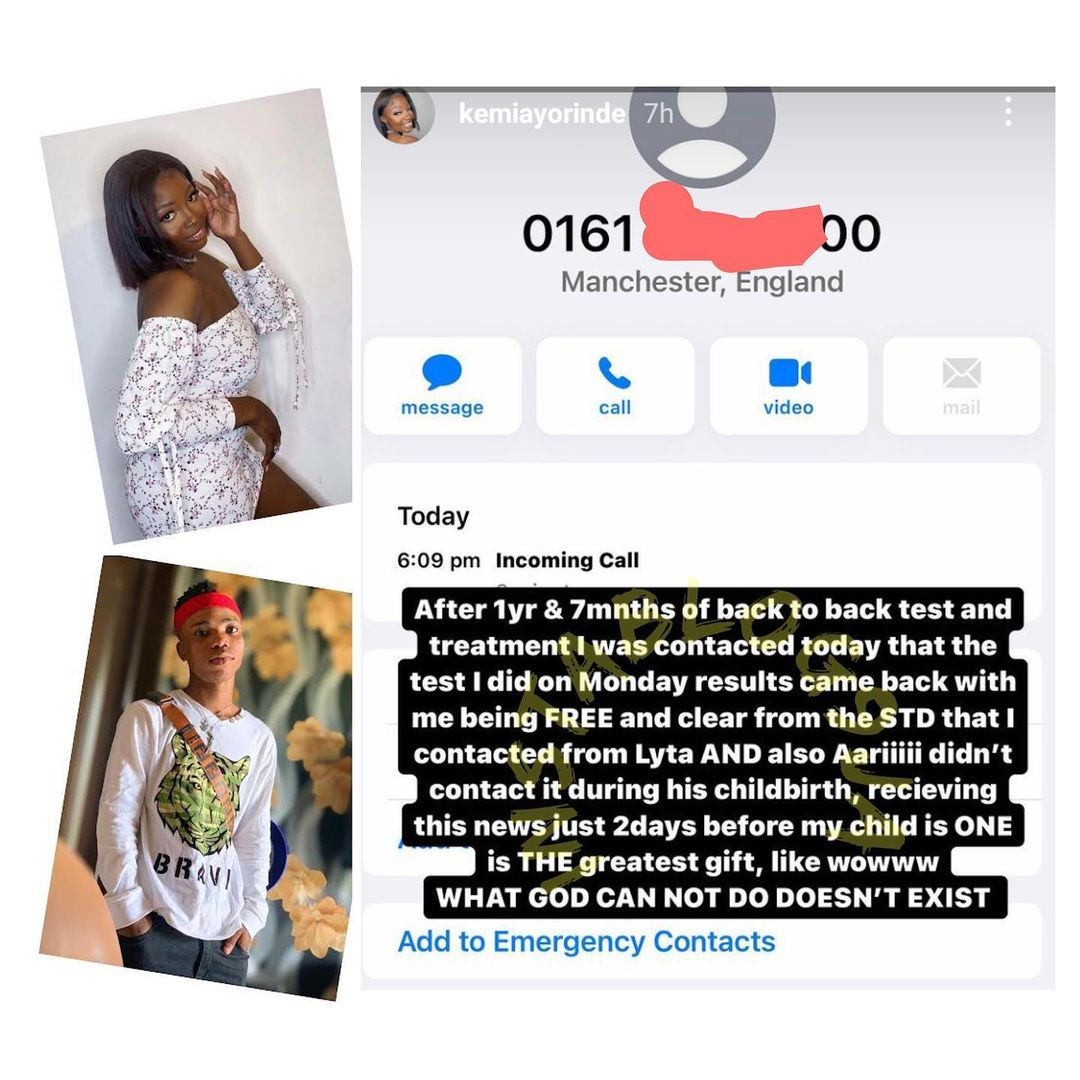 I'm free of the STD I contacted from Lyta - Lyta's baby mama, Kemi opens up