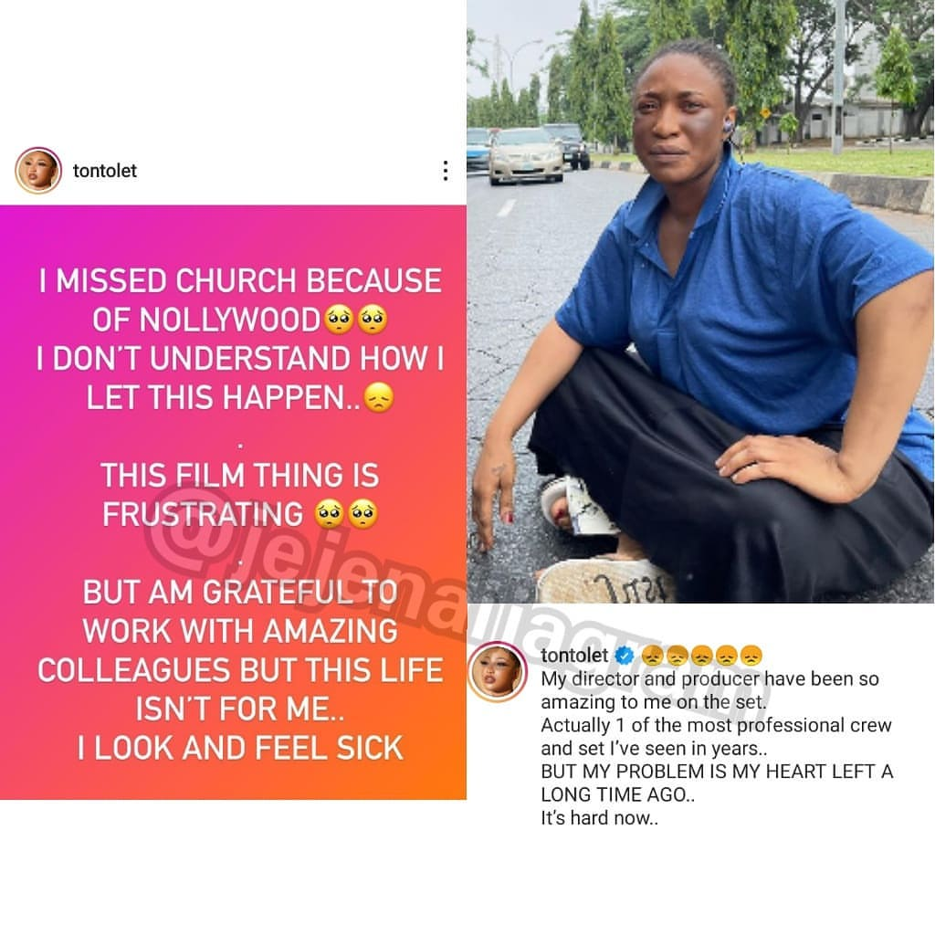 """""""My heart left a long time ago"""" - Tonto Dikeh hints on retiring from Nollywood"""