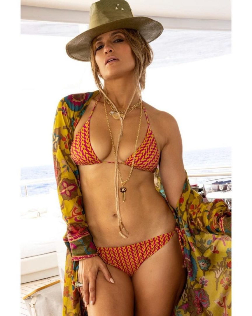 Jennifer Lopez stuns out in sexy bikini pictures to celebrate her 52nd birthday