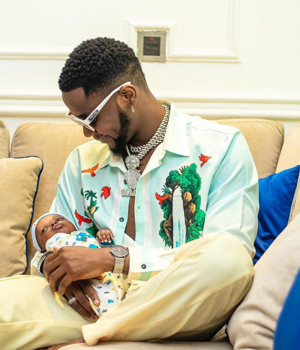 Kizz Daniel gifts his twin, Jalil and Jelani, a house in Lekki, shows off documents (Photos)