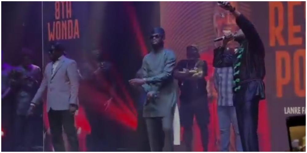 Plantashun Boiz settle their differences, reconciles at Sound Sultan's tribute night (Video)