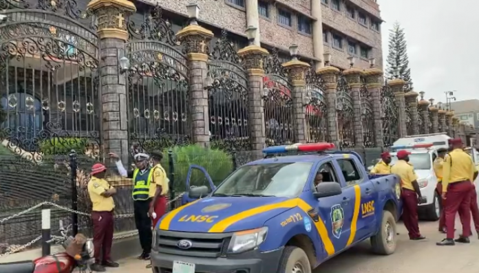 Scenes at TB Joshua's Tribute service happening now at The Synagogue Church (video)