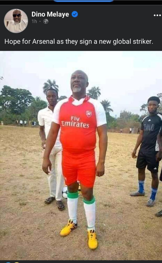 New Hope for Arsenal Football Club as they Sign a new Global Striker