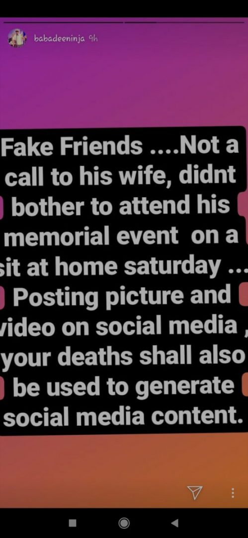 Your deaths will be used to generate social media content - Sound Sultan's elder brother calls out his f*ke friends