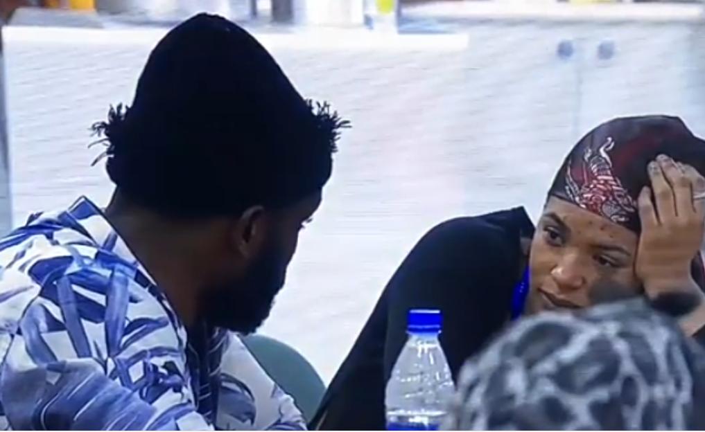 #BBNaija: I want to rap£ you – Liquorose tells Emmanuel (video)