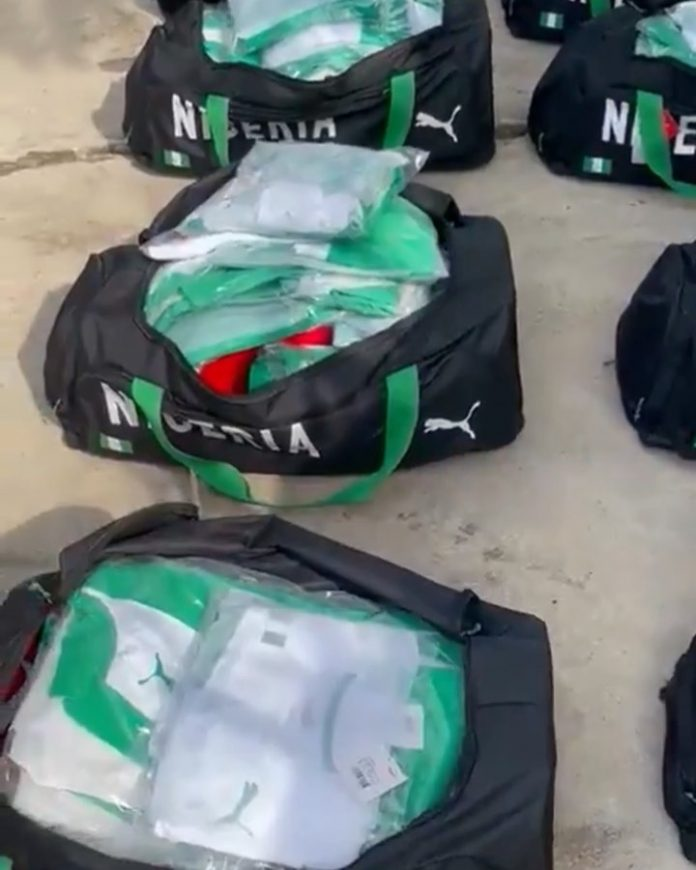 See the $2.7 Million kits freely donated to Nigeria by PUMA (video)