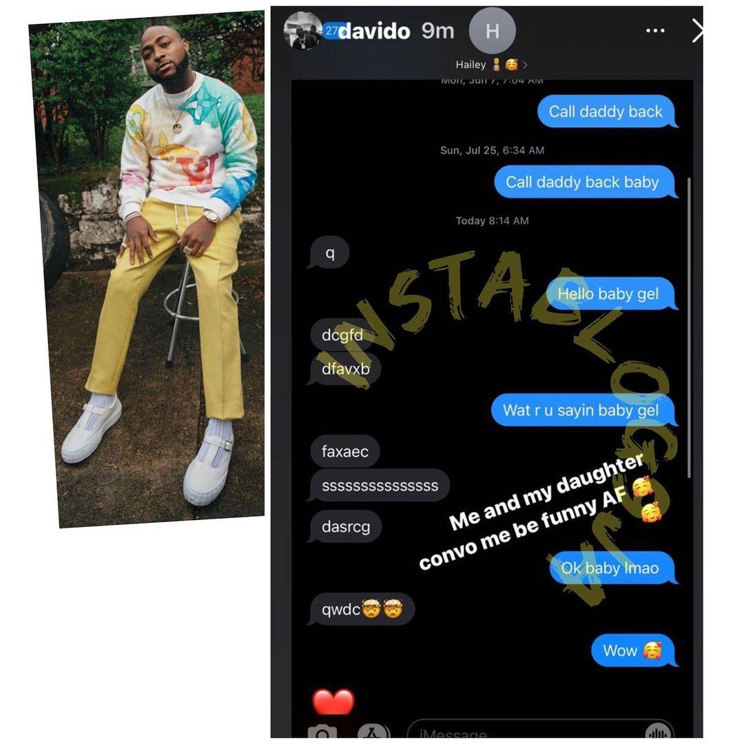 Stop calling/texting Hailey's iPad, she's a girl - Davido's baby mama, Amanda warn fans