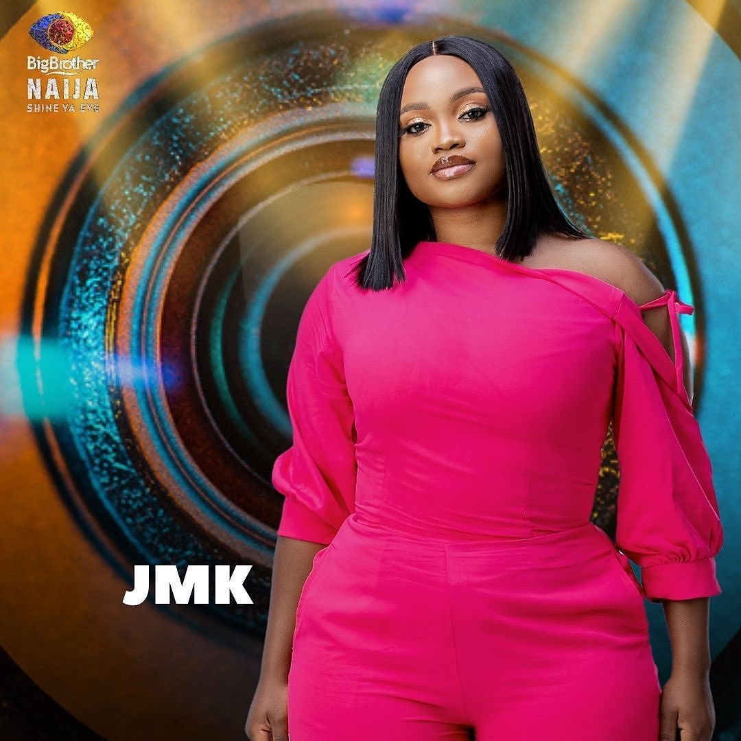 #BBNaija: Reaction as JMK finally shows off her backside during jacuzzi party (Video)