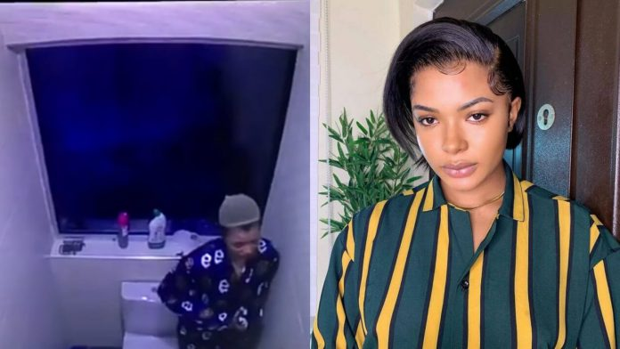 #BBNaija: I don't want to lose my Dad – Liquorose laments as she wept bitterly in the toilet (video)