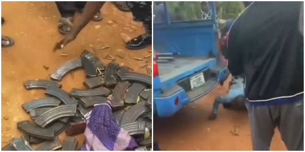 Fulani herder en-route Jos allegedly nabbed with over 200 ammunition (Video)