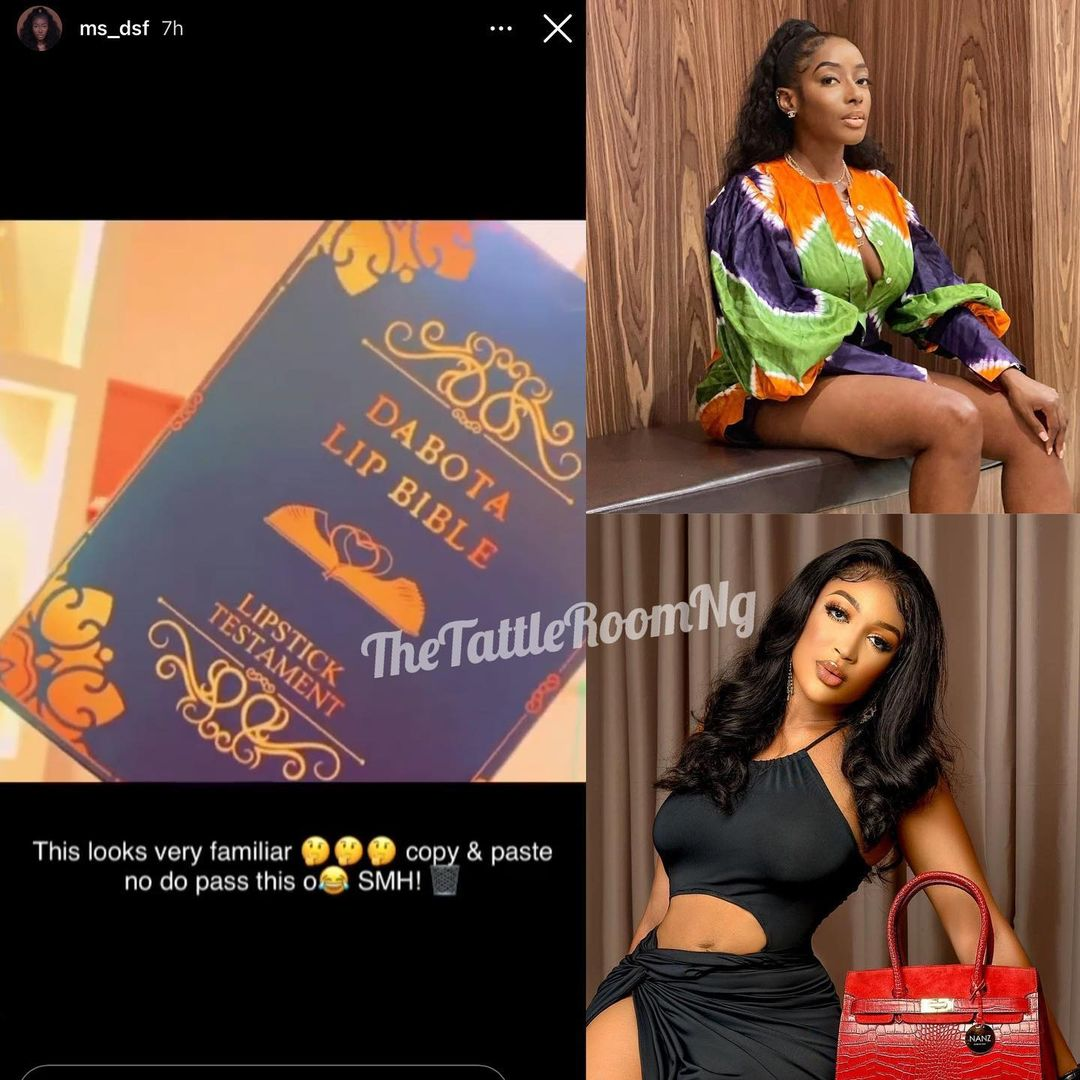 """Dorcas Shola-Fapson calls out Dabota Lawson for """"copying and pasting"""" her work"""