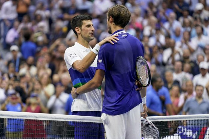 2nd Seeded Medvedev thrash World No.1 Djokovic in straight sets to win U.S Open