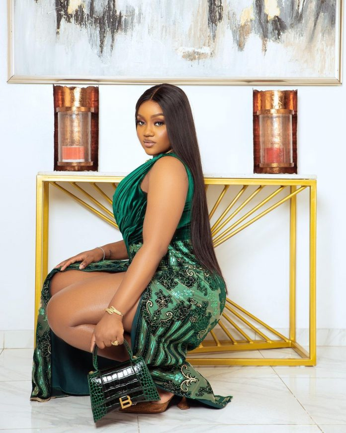 Chef Chioma steps out in style for Crazeclown's wedding (Photos)