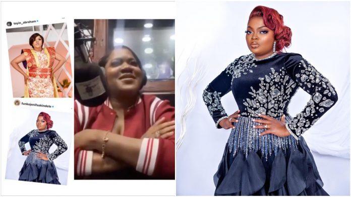 Actress Toyin Abraham debunks rumored beef with Funke Akindele
