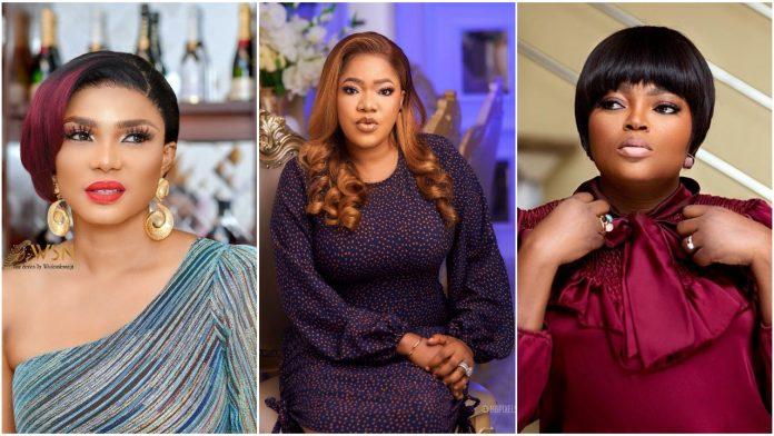 Drama as Iyabo Ojo Blasts Funke Akindele for Paying Blogs to Discredit Toyin Abraham's New Movie