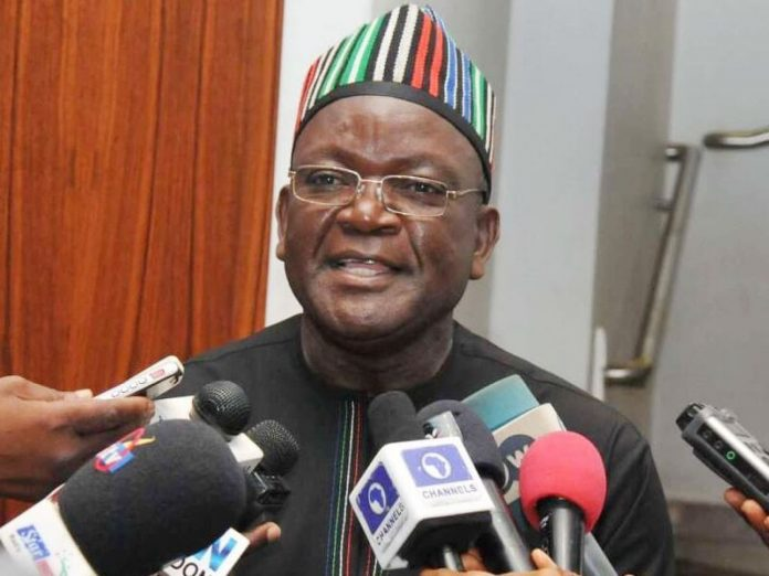 When I'm on top of my wife and I remember the people in the IDP camp, it goes flat - Governor Ortom (Video)