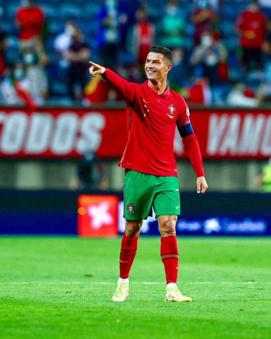 GOAT: Cristiano Ronaldo becomes men's all-time international highest goal scorer