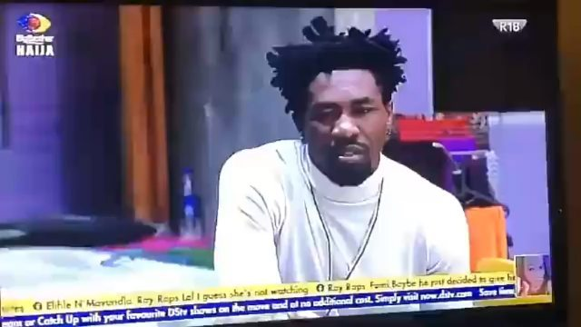 #BBNaija: Angel & I never had any agreement to keep our KISS a secret - Boma (video)