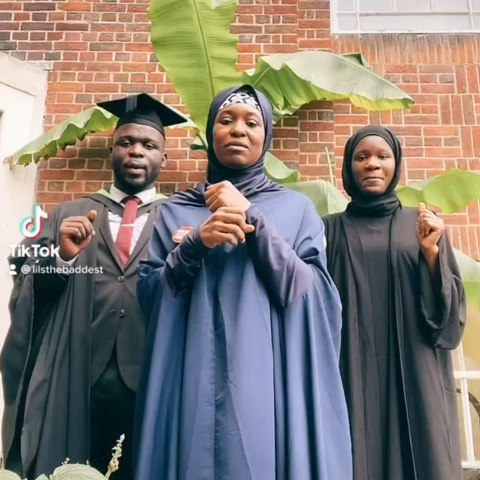 Aisha Yesufu's son finally graduate In the U.K, after Nigerian Universities rejected him over his Dyslexia (video)