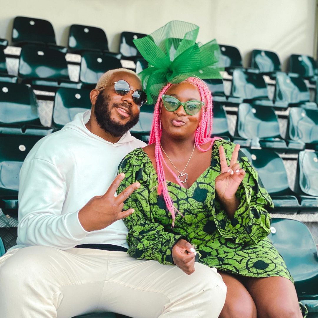 Drama as DJ Cuppy pours a drink on Kiddwaya who advised her concerning her love life (Video)