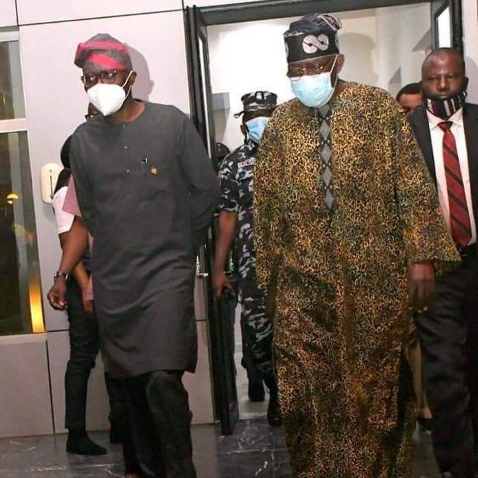 Photos: Nigerian Political Jagaban, Tinubu returns to Lagos, After 3 Months Medical Trip