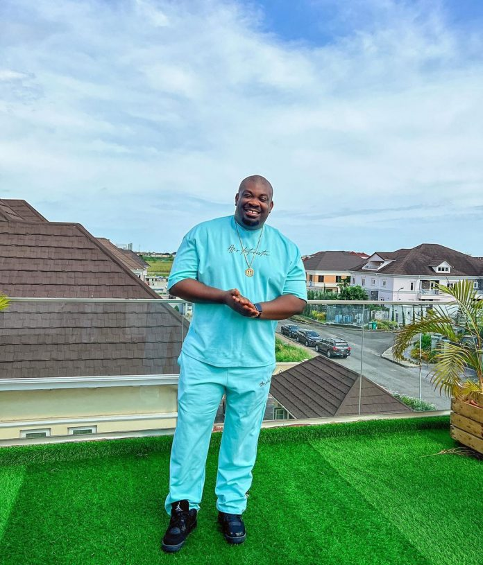 Donjazzy replies Instagram users who blasted him for posting a picture of a busty lady on his page. ( video